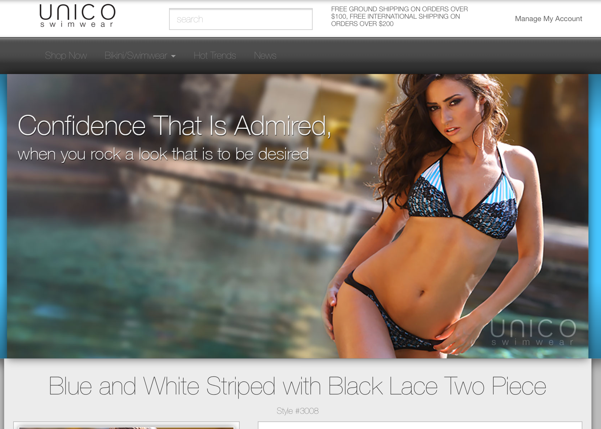 VinceRodDesigns UNICO Swimwear